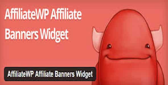 Plugin AffiliateWp Affiliate Banners Widget - WordPress