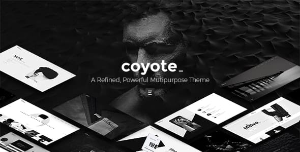 Tema Coyote - Template WordPress