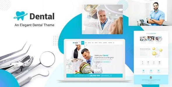 Tema Dental Health - Template WordPress