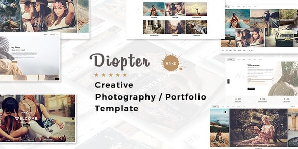 Tema Diopter - Template WordPress
