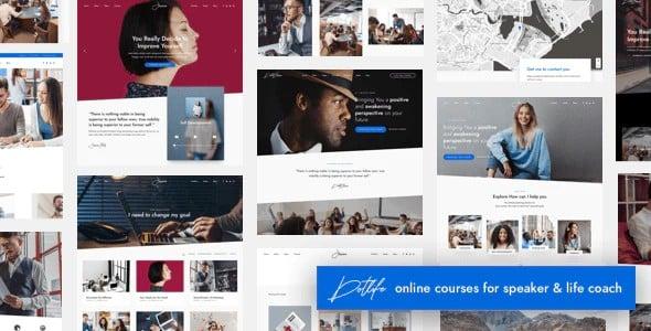 Tema Dotlife - Template WordPress