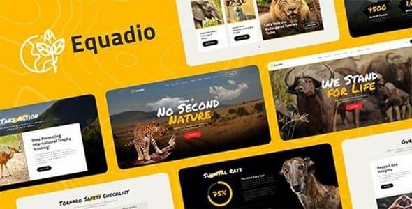 Tema Equadio - Template WordPress