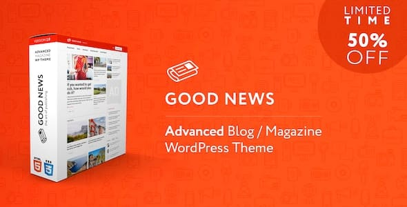Tema Good News - Template WordPress
