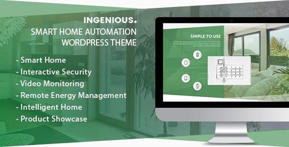 Tema Ingenious - Template WordPress