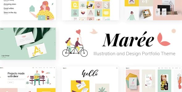 Tema Maree - Template WordPress