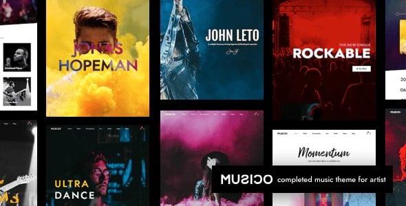 Tema Musico - Template WordPress
