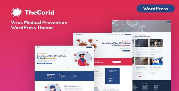 Tema TheCorid - Template WordPress
