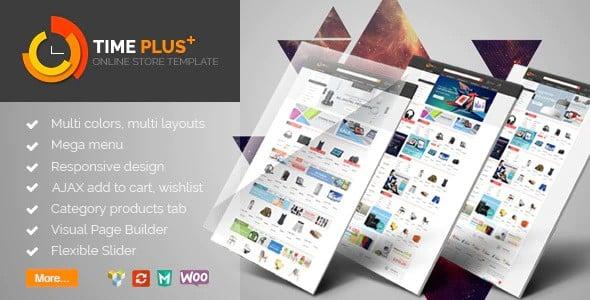 Tema TimePlus - Template WordPress