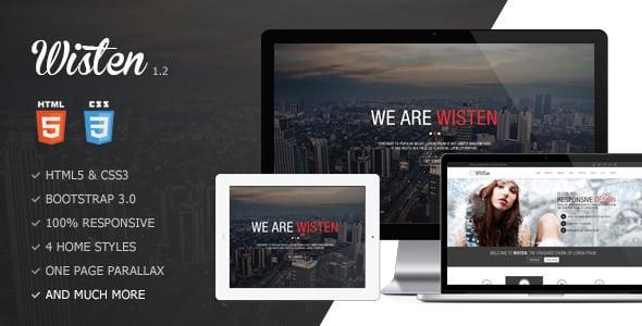 Tema Wisten - Template WordPress