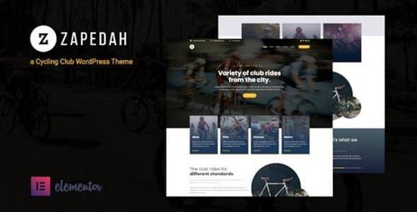 Tema Zapedah - Template WordPress