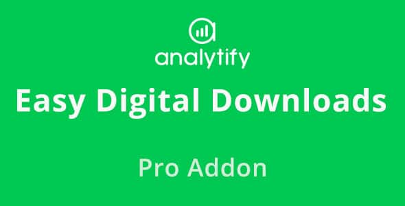 Plugin Analytify Pro Easy Digital Downloads - WordPRess
