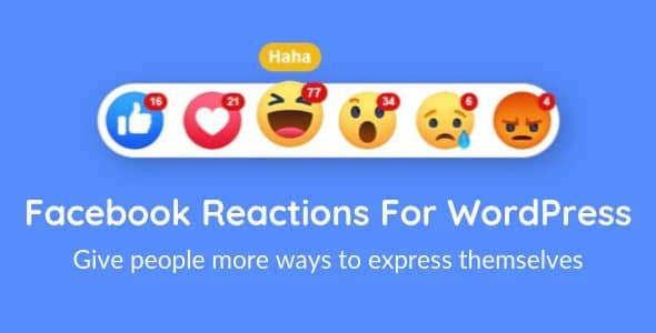 Plugin Facebook Reactions For WordPress