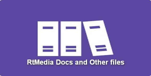 Plugin RtMedia Docs and Other files - WordPress