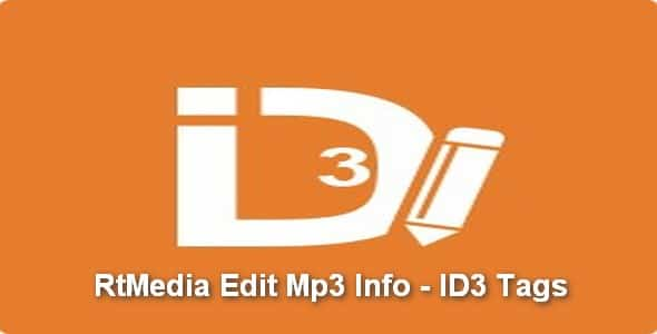Plugin RtMedia Edit Mp3 Info - ID3 Tags - WordPress
