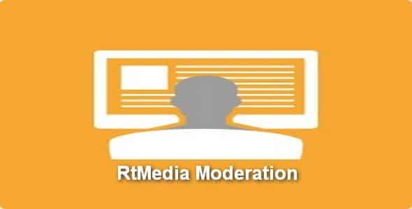 Plugin RtMedia Moderation - WordPress
