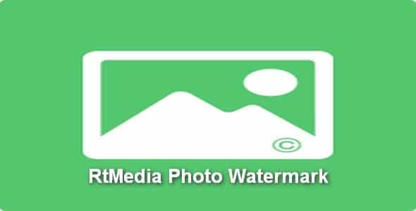 Plugin RtMedia Photo Watermark - WordPress