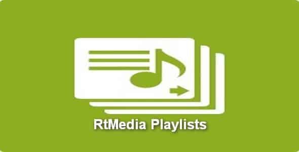 Plugin RtMedia Playlists - WordPress
