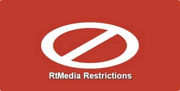 Plugin RtMedia Restrictions - WordPress