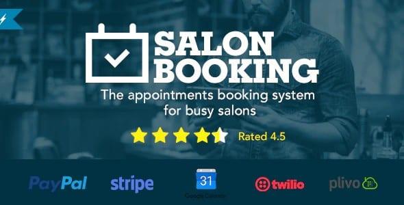 Plugin Salon Booking - WordPress