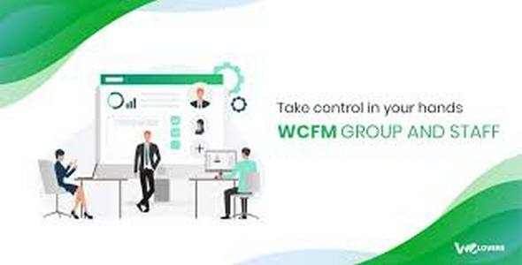 Plugin WooCommerce Frontend Manager Group Staff - WordPress