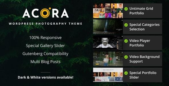 Tema Acora - Template WordPress