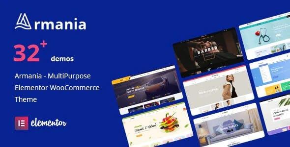 Tema Armania - Template WordPress
