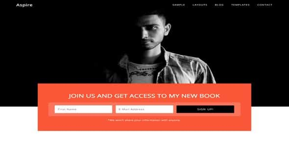 Tema Aspire Pro Studiopress - Template WordPress