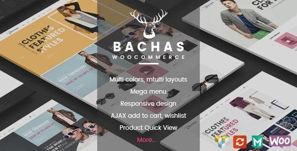 Tema Bachas - Template WordPress