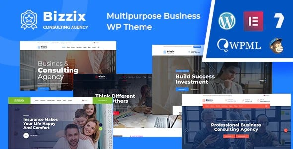 Tema Bizzix - Template WordPress
