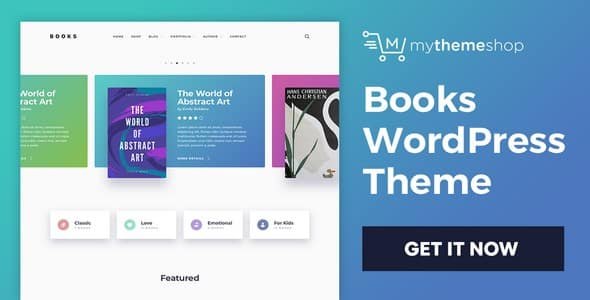 Tema Books - Template WordPress