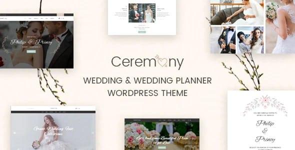 Tema Ceremony - Template WordPress