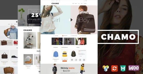Tema Chamo - Template WordPress