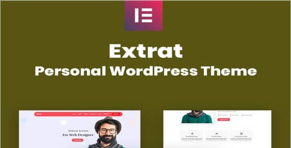 Tema Extrat - Template WordPress