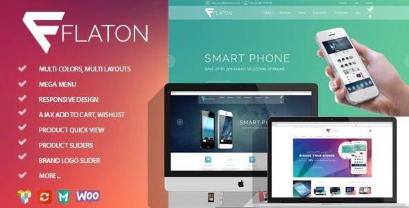 Tema Flaton - Template WordPress