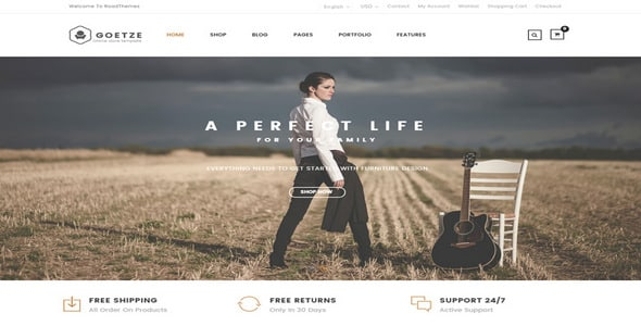 Tema Goetze - Template WordPress