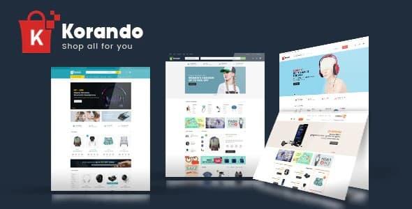 Tema Korando - Template WordPress