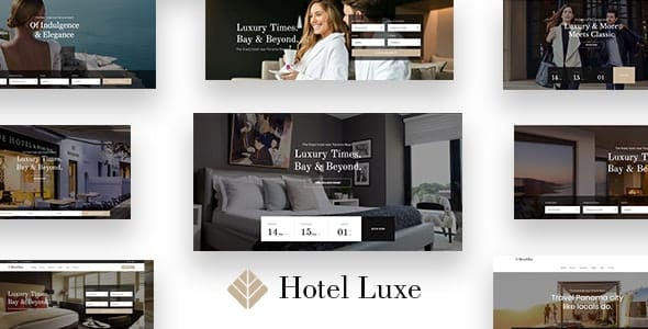 Tema Luxe - Template WordPress