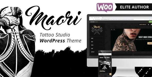 Tema Maori egemenerd - Template WordPress
