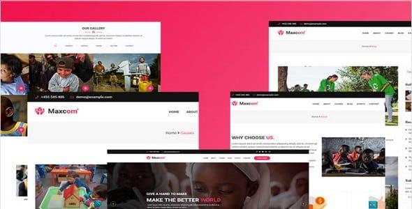 Tema Maxcom - Template WordPress