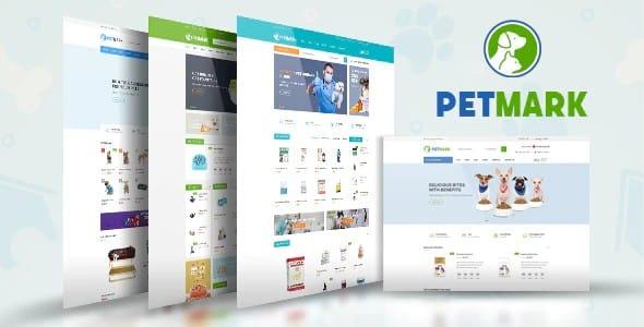 Tema Petmark - Template WordPress