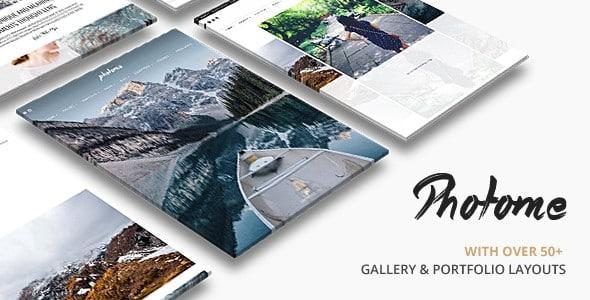 Tema Photome - Template WordPress