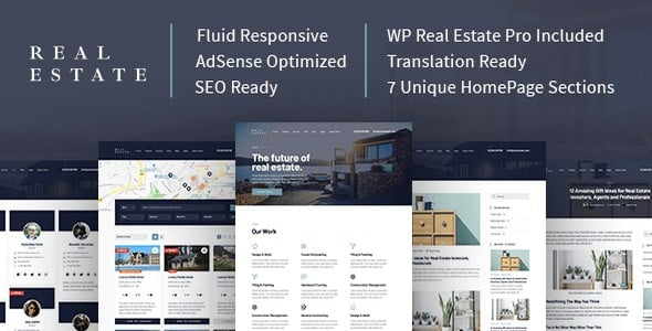 Tema Real Estate Mythemeshop - Template WordPress