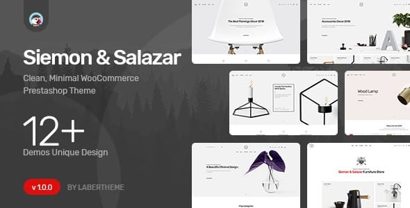 Tema Siemon Salazar - Template WordPress