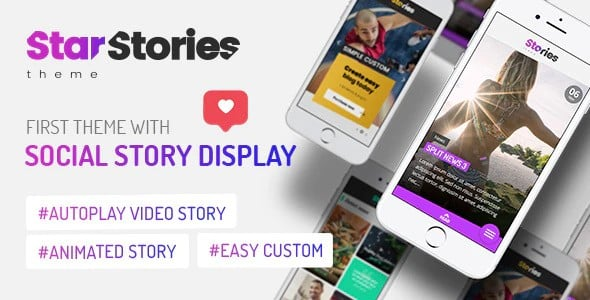 Tema StarStories - Template WordPress