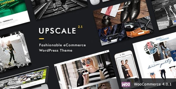 Tema Upscale Dahz - Template WordPress