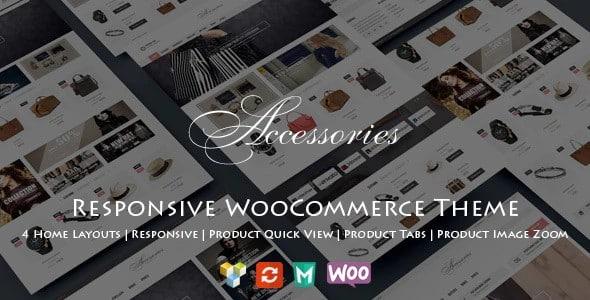 Tema WooAccessories - Template WordPress