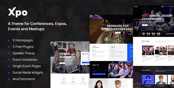 Tema Xpo - Template WordPress