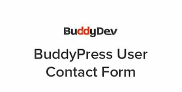 Plugin BuddyPress User Contact Form - WordPress
