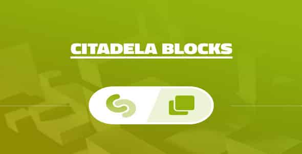 Plugin Citadela Blocks - WordPress