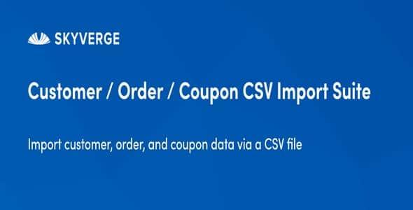 Plugin Customer Order Coupon Csv Import Suite - WordPress